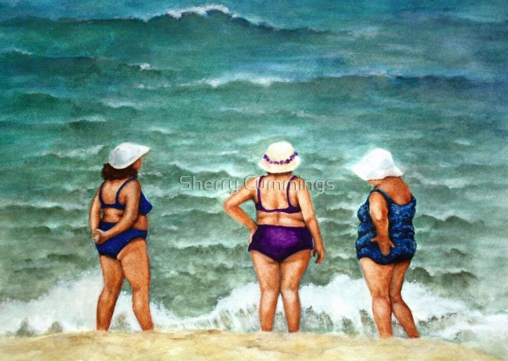Beach Babes by Sherry Cummings