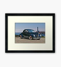 1940 Ford Deluxe Coupe II Framed Print
