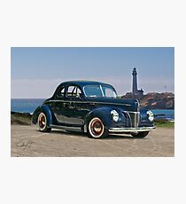1940 Ford Deluxe Coupe II Photographic Print