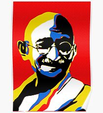 Mahatma Ghandi - Iconic Pop Art Poster