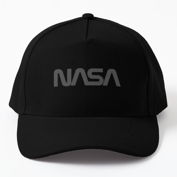 Grey Nasa Logo Dad Hat Baseball Cap