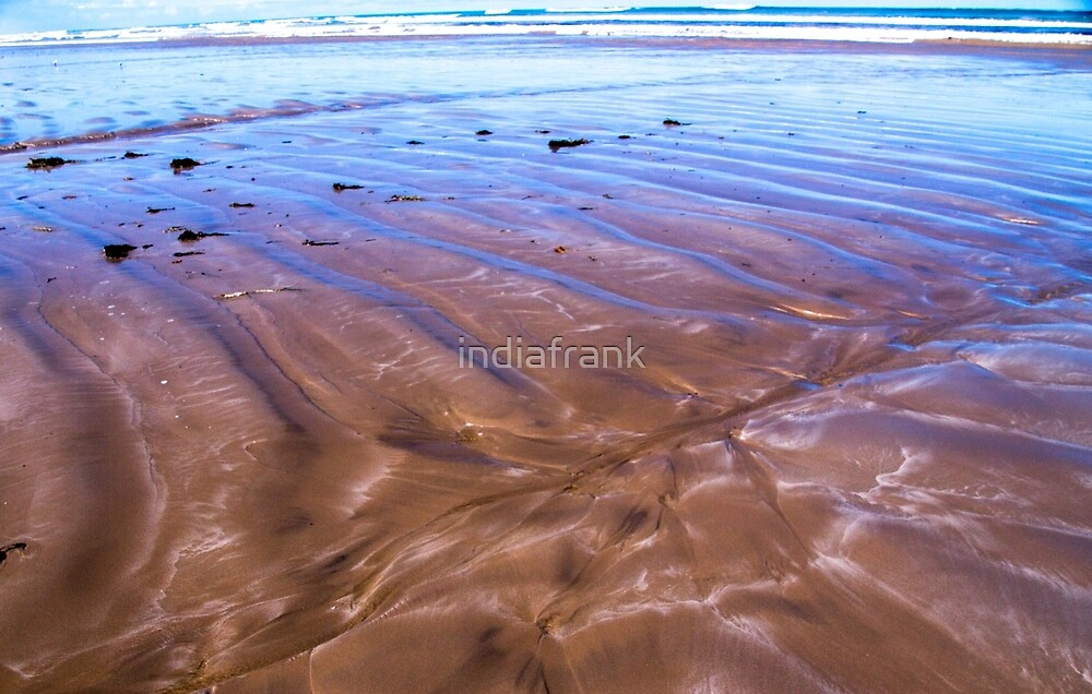 Sand ripples by indiafrank