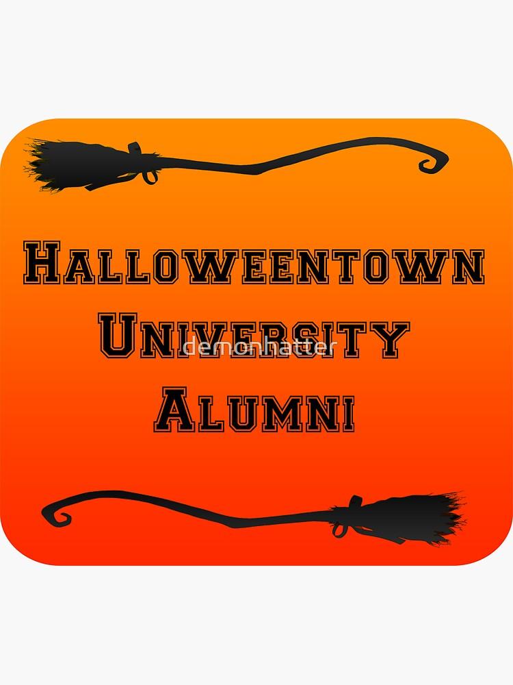 Halloweentown University (Orange) by demonhatter