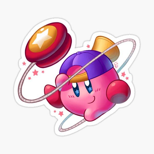 Yo-yo Kirby Sticker
