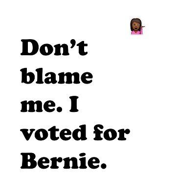 Don't Blame Me Emoji Tee by codenoir