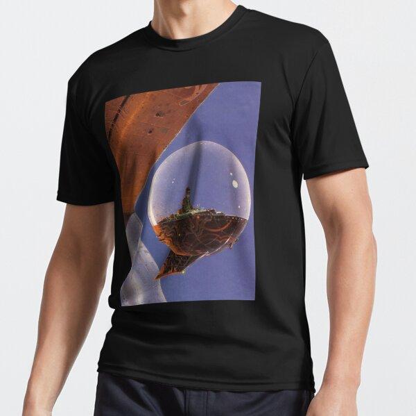 Moebius - Bubble Spaceship Active T-Shirt