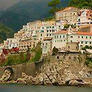 Along the Amalfi Coast by Barbara  Brown