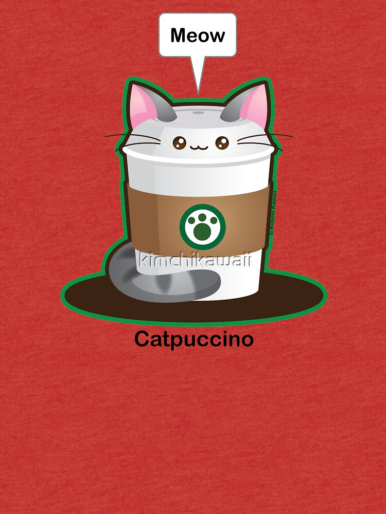 Cute Cat Coffee by kimchikawaii