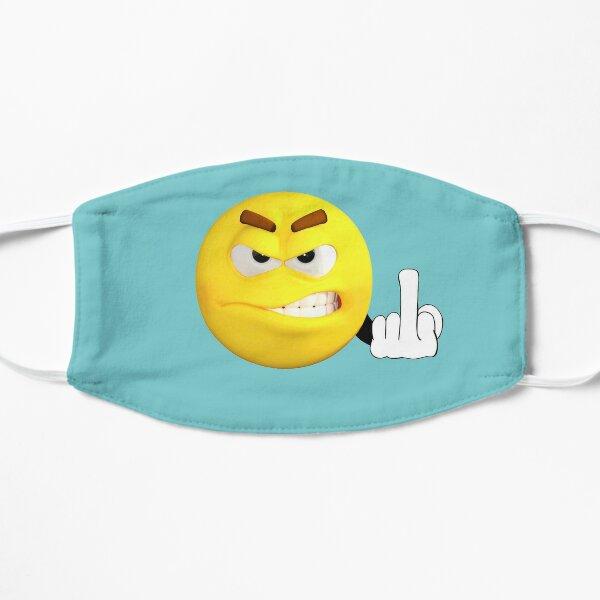 Fuck you emoji Flat Mask