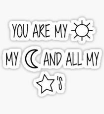 Sun, Moon, & Star Embroidery Sticker
