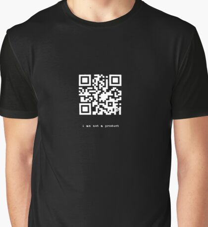 i am not a product (version 2) Graphic T-Shirt