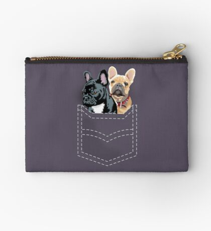 Diesel and Brie in pocket Studio Pouch