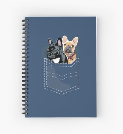 Diesel and Brie in pocket Spiral Notebook