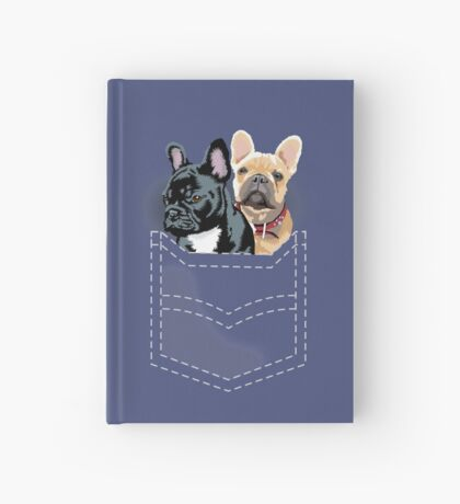 Diesel and Brie in pocket Hardcover Journal