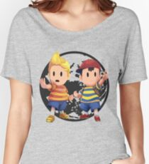 Ness and Lucas Women's Relaxed Fit T-Shirt