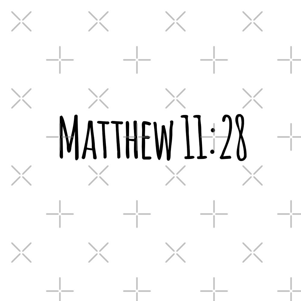 Matthew 11:28 by Olivia Lee
