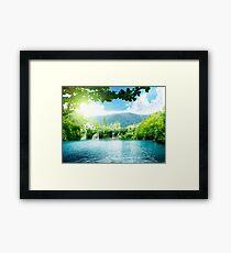 Heaven Land Framed Print