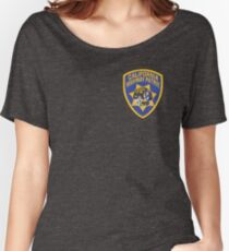 California Highway Patrol Women's Relaxed Fit T-Shirt