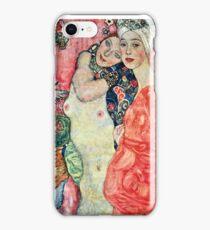 Gustav Klimt - Women Friends  iPhone Case/Skin