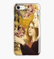Gustav Klimt - Two Girls With Oleander  iPhone Case/Skin