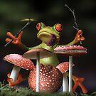 Froggy Shroom Jam by Randy Turnbow
