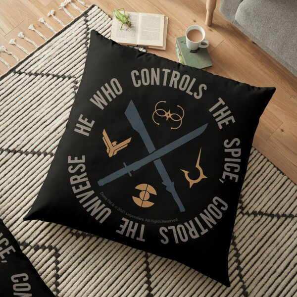Who controls the spice Floor Pillow
