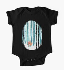 Fox in the Forest One Piece - Short Sleeve