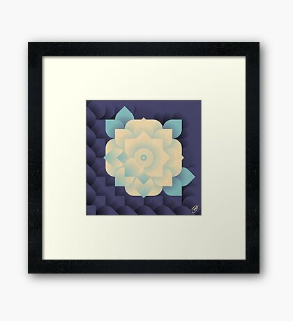Floral Dream 3 Framed Print