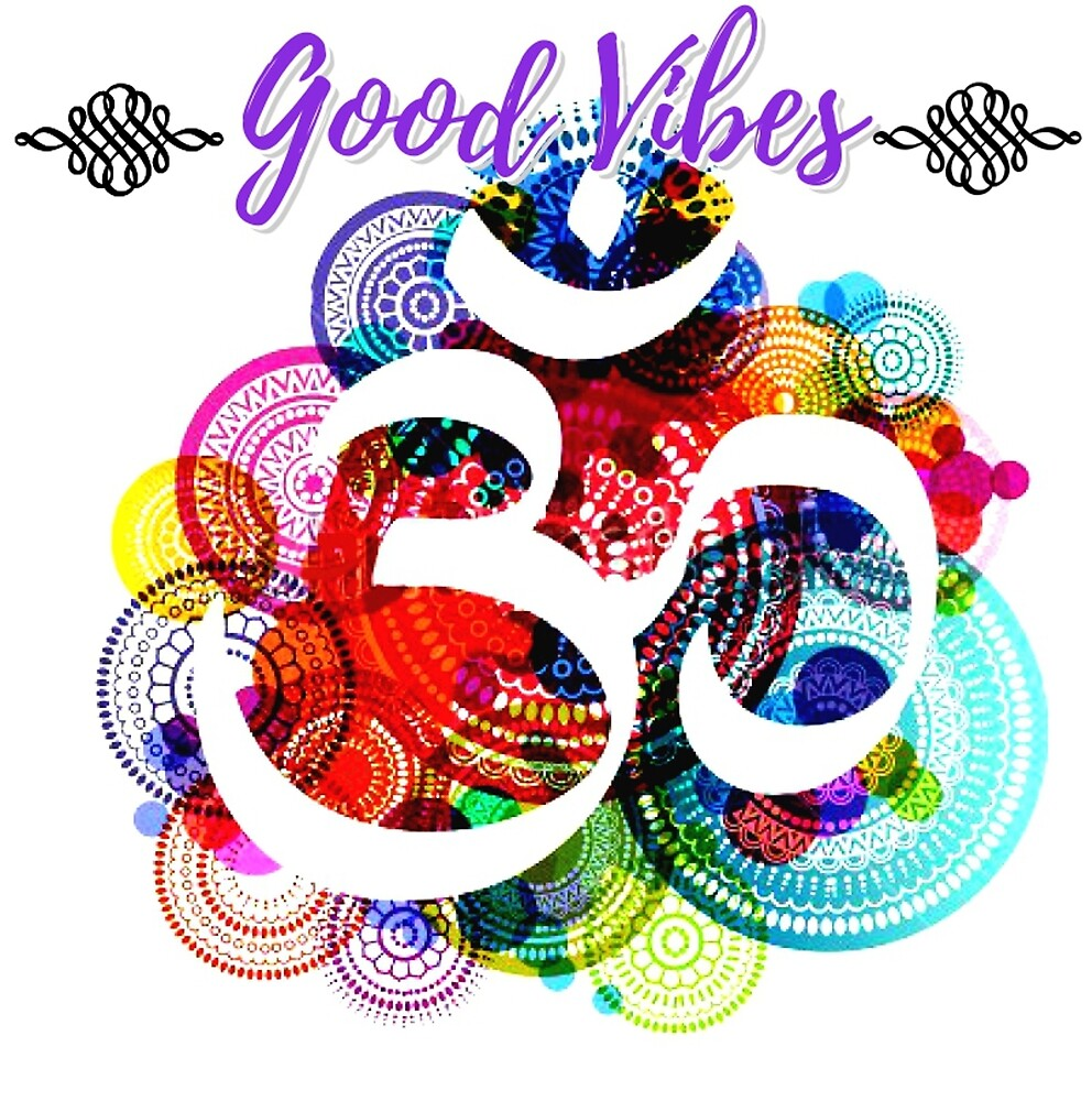 Good Vibes Spiral by Cassie Bartelak