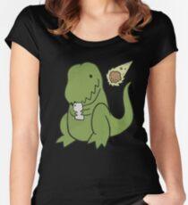 Tyrannosaurus Fitted Scoop T-Shirt