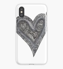 My heart is a complex thing iPhone Case