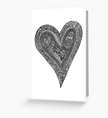 My heart is a complex thing Greeting Card