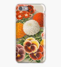 Pansies & Marigolds iPhone Case/Skin