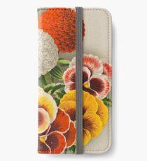 Pansies & Marigolds iPhone Wallet/Case/Skin