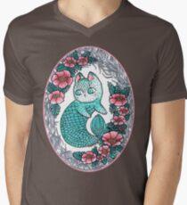Mermaid kitty  Mens V-Neck T-Shirt