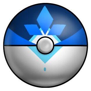 Mystic Pokeball Design by babykittens