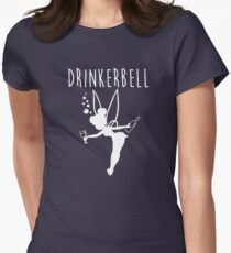 Drinkerbell - Tinkerbell Womens Fitted T-Shirt
