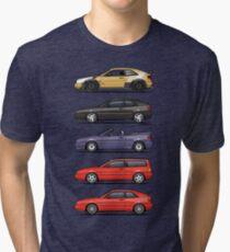 Stack of Rados Tri-blend T-Shirt