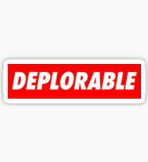 DEPLORABLE VINTAGE Sticker