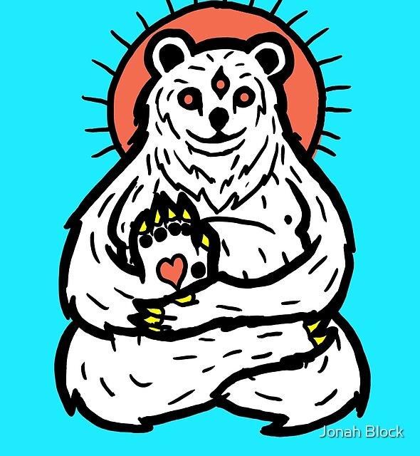 Spirit Polar bear by Jonah Block