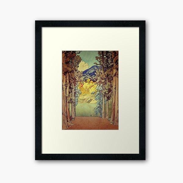 Returning to Hoyi Framed Art Print