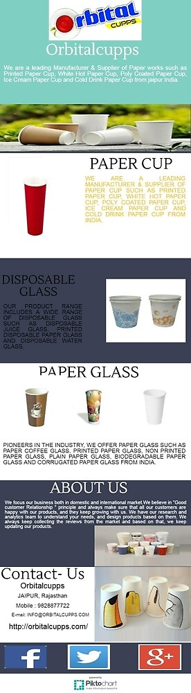 Disposable paper cup manufacturers by orbital2016