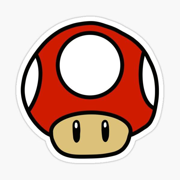 Mario Kart Pilz Sticker