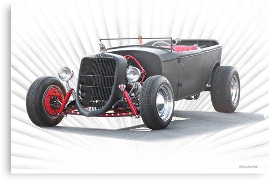 Ford 'Jalopy Style' Hot Rod by DaveKoontz
