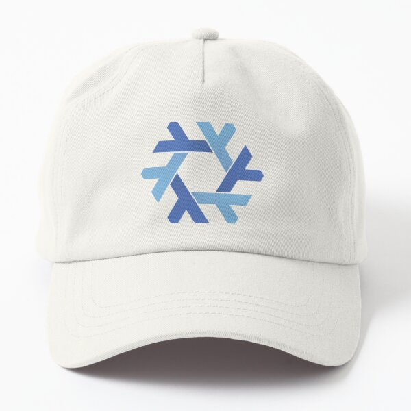 Nix ( NixOs) Classic snowflake Black Dad Hat