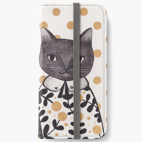 Kittens in Capes iPhone Wallet