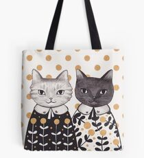 Kittens in Capes Tote Bag