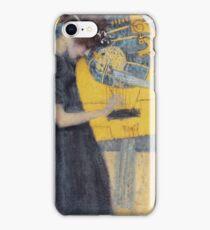 Gustav Klimt - Music 1 1895 iPhone Case/Skin