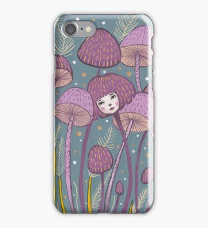 Uncommon Variety - Purple Mushroom iPhone Case/Skin