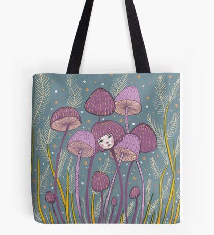 Uncommon Variety - Purple Mushroom Tote Bag